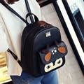 Дамы Корейский стиль рюкзак моды личности все матч милый олень печати на упаковке мешок школы мешок оригинальный дизайн рюкзак