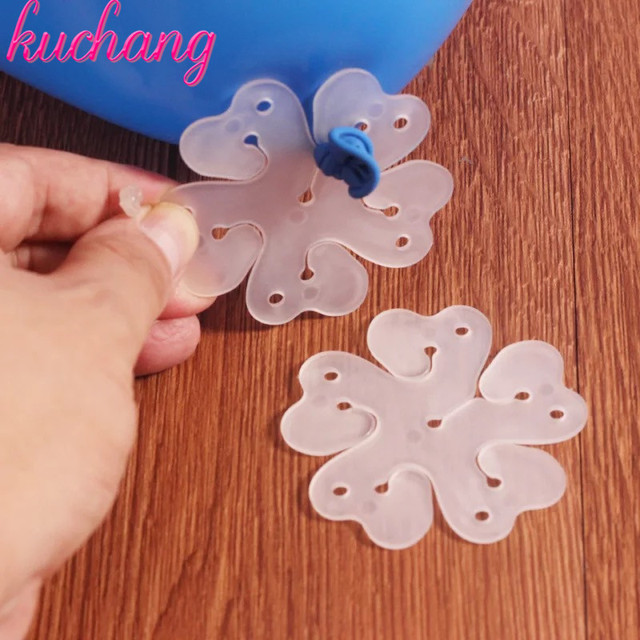 5pieces balloon clip air balloon fixed decorate super hugh number letter cute hydrogen airballoon clamp folder Birthday party