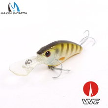 Maximumcatch 1Pcs Life-like Crank Bait Fishing Lures With VMC Hooks 60mm/12.3g Hard Fishing Lures Artificial Bait Crankbait