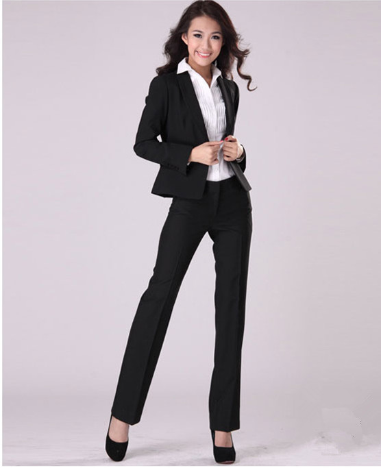 Popular Formal 2 Pieces Womens Pants Suits-Buy Cheap Formal 2 ...