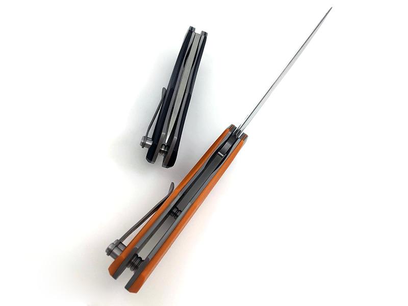 BGT Taktyczny nóż składany D2 Blade G10 Uchwyt Survival Hunting - Narzędzia ręczne - Zdjęcie 5