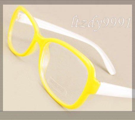 Amarillo y Blanco Ultraligero TR-90 Sobre Tamaño de la Prescripción Óptica MARCOS de ANTEOJOS Mujeres Gafas RX Spectacle Eyewear KVP6319