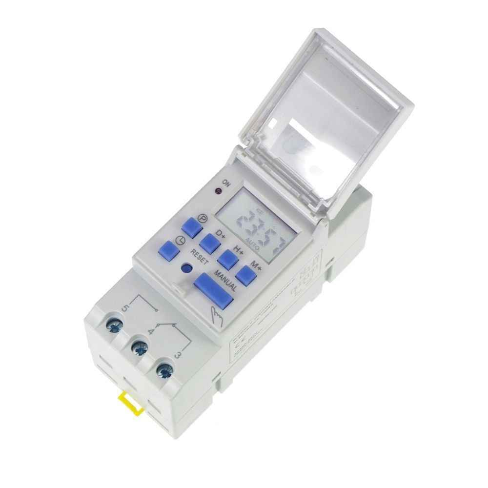 timer switch  DIN RAIL DIGITAL PROGRAMMABLE Timer 220V 16A TIME RELAY