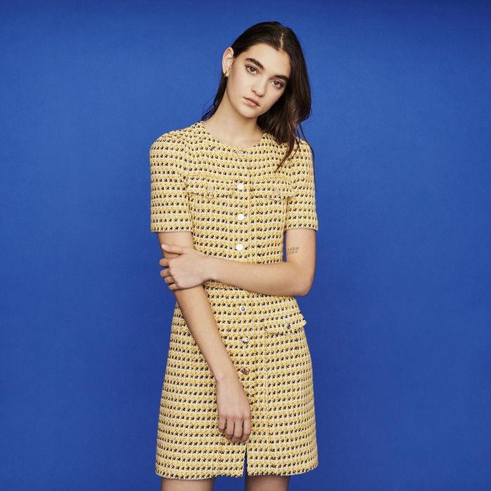Women Dress 2019 Spring and Summer Simple Short sleeved Slim Dress