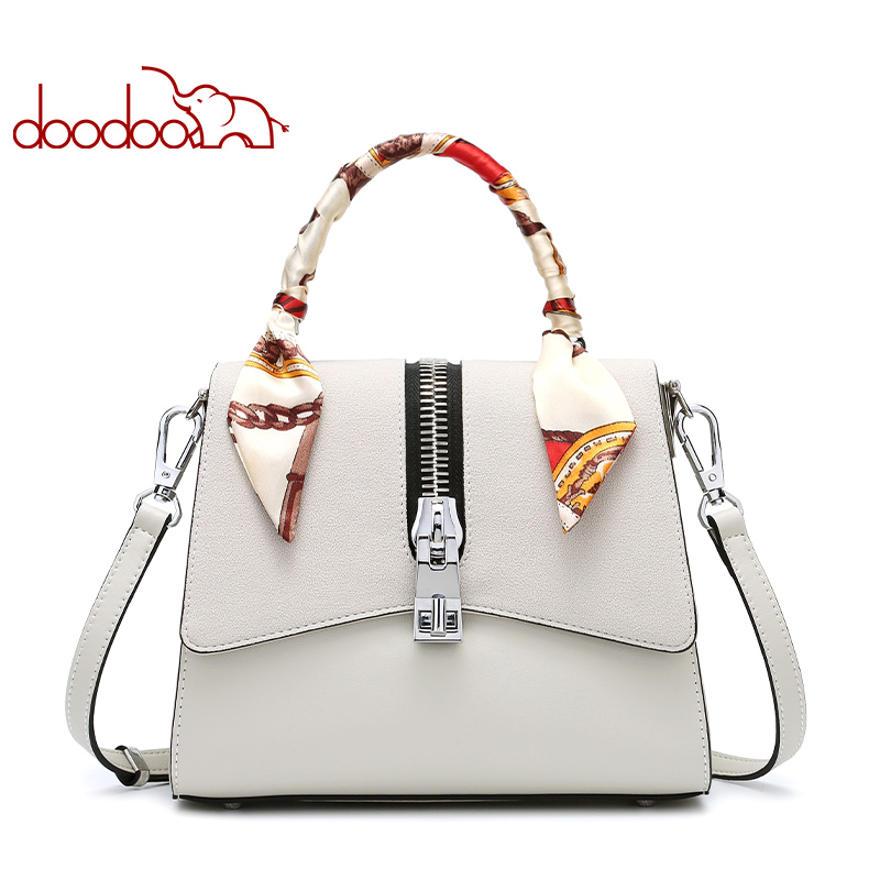 DOODOO Ribbon Ladies Shoulder Crossbody Messenger Bags High Quality Women Bag Fashion Female PU Leather Mini Kelly Bag Handbag fashion mini chain handbag for women shoulder bag pu leather female crossbody bag little bag ladies messenger bags women s totes
