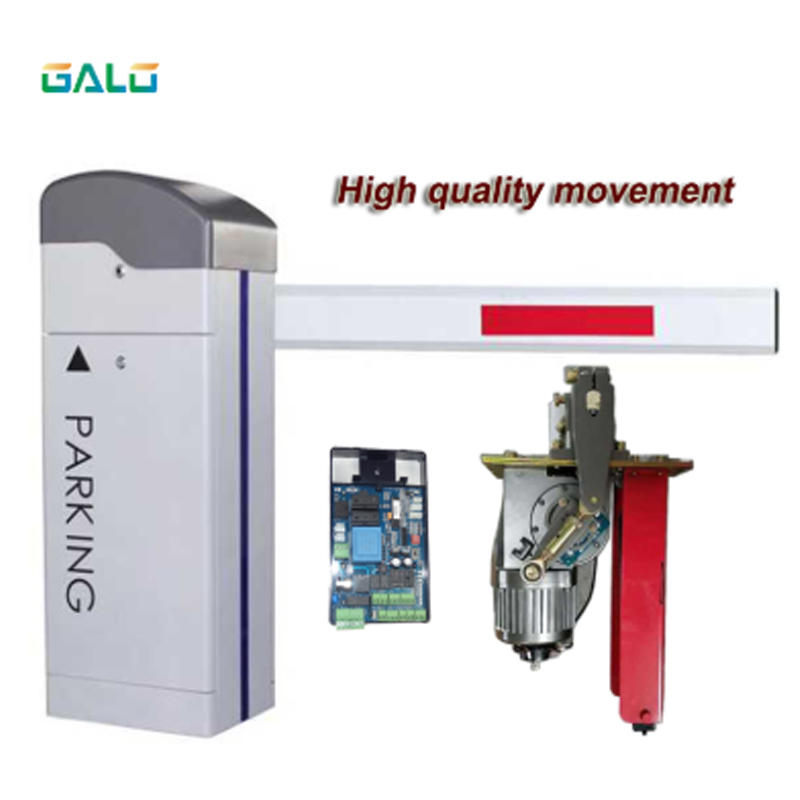 High Quality Boom Arm Automatic Barrier Gate For Car Parking Management System