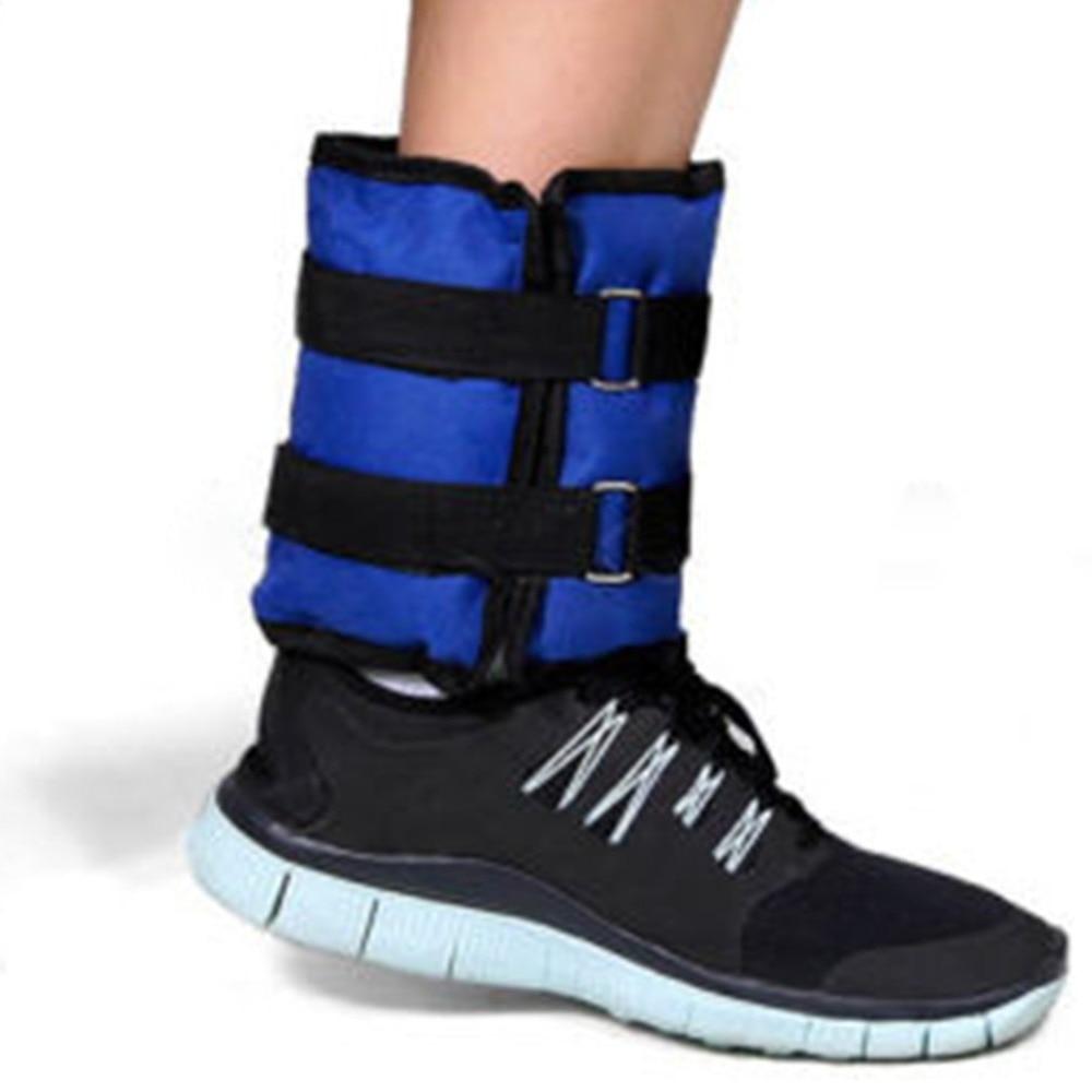 One Pair 1kg Running Walking Leg Sandbag Iron Sand Invisible Tied Dancing Treadmill Weight Training Equipment