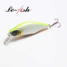 Le-Fish Hard Bait Minnow lure 13g/9cm Floating Minnow Bait Bass Fishing Lures With 6# VMC Hooks peche isca artificial bait