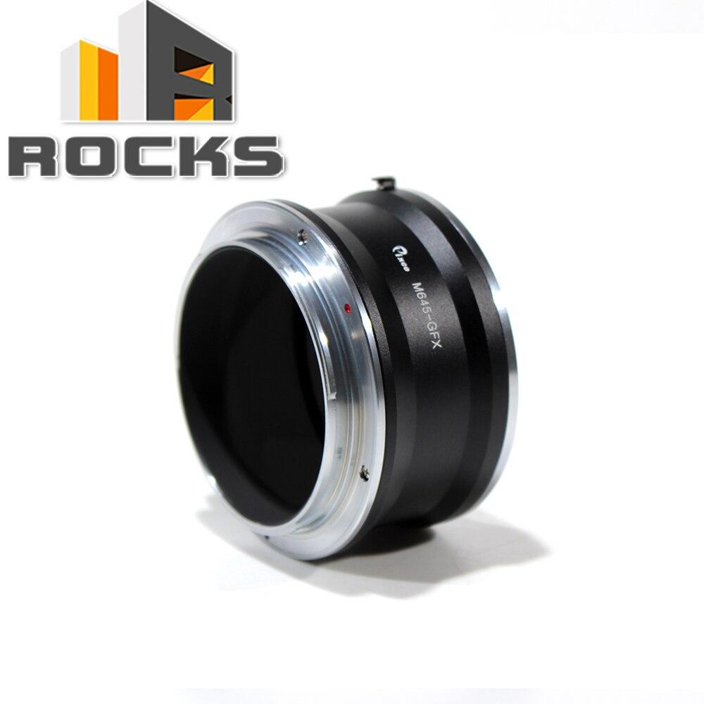 Pixco M645-GFX Lens Adapter Suit for Mamiya 645 Lens to Fujifilm G-Mount GFX Mirrorless Digital Camera such as GFX 50S все цены