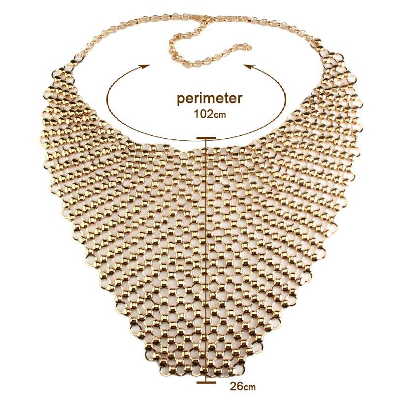 HTB1ythbLXXXXXc1XXXXq6xXFXXXe Metal Body Necklace Chain Choker Bralette