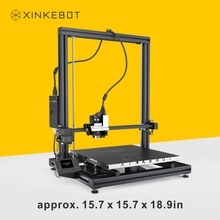 XINKEBOT Latest Product ORCA2 Cygnus 3D Printer 15.7*15.7*18.9″ with Quality Parts and 1.75mm PLA Pro