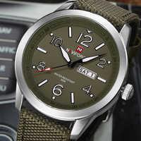 NAVIFORCE Sports hommes montre armée militaire hommes montre-bracelet semaine affichage décontracté Camping mâle horloge Saat Relogio Masculino