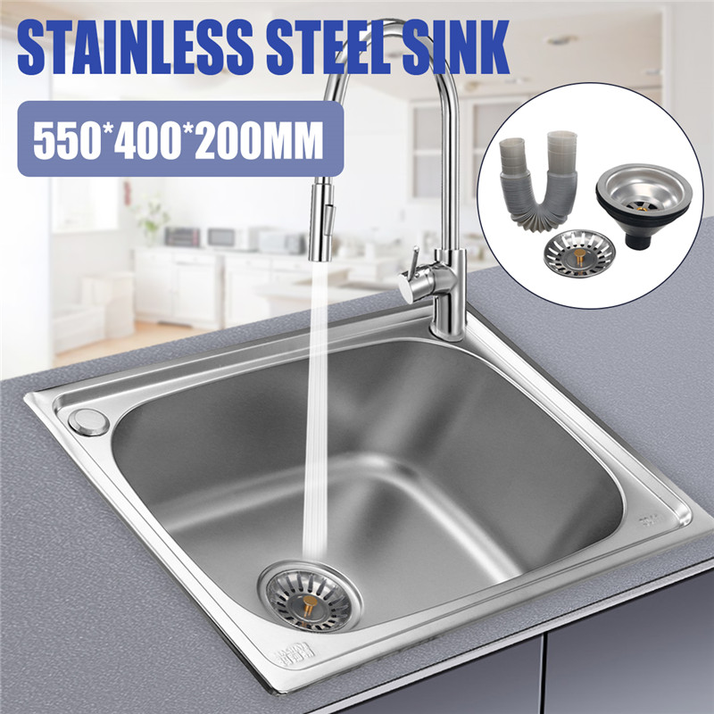 Xueqin Handmade Brushed Seamless 304 Stainless Steel Kitchen Sink Single Bowl Single Sink With Drainer 100g vitamin e food grade usa imported page 2