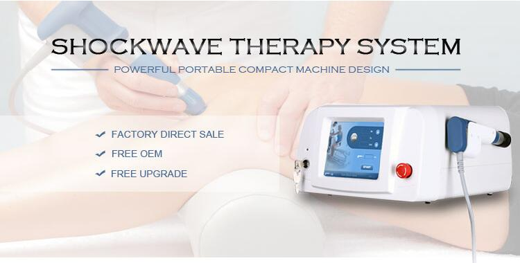 2019 New Pneumatic Shock Wave Therapy Equipment Shockwave Machine  Physiotherapy Knee Back Pain Relief Cellulites Removal With