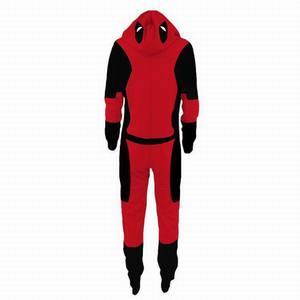 Image 5 - Erwachsene Deadpool Pijama Superhero Kostüm Mann Pyjamas Frauen Overalls Cosplay Halloween Kostüme für Frauen Weihnachten Party Outfit