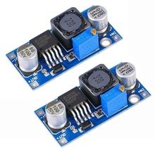 MARSWALLED Max 4A Power Supply Step-up Boost Converter Module DC3V-32V to DC5V-35V Adjustable Voltage Regulator XL6019