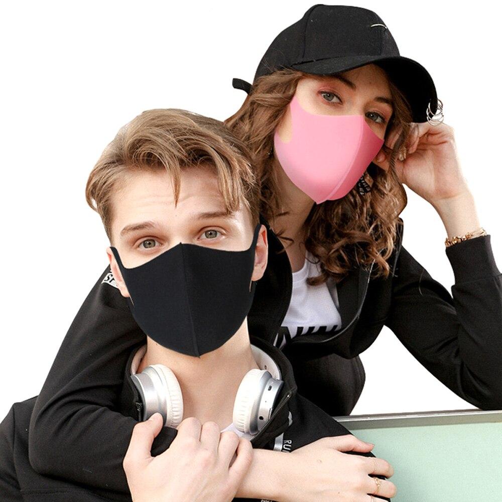1 Stücke Unisex Mund Masken Anti Staub Gesicht Mund Abdeckung Maske 3d Design 2mm Maske Staubdicht Anti-bakterielle Outdoor Reise Schutz Profitieren Sie Klein