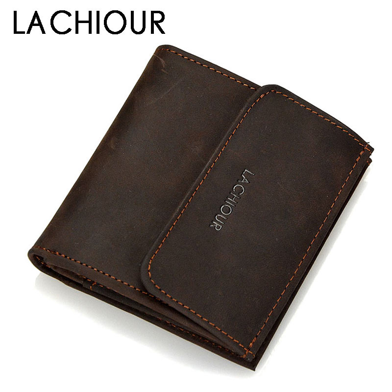 Functional Crazy Horse Leather Wallet Men Hasp Pocket Carry Mini Card Holder Male Coin Purse Wallet Genuine Short Design Wallet contact s 2018 men wallet genuine leather men wallet crazy horse cowhide leather short male clutch coin purse card holder wallet