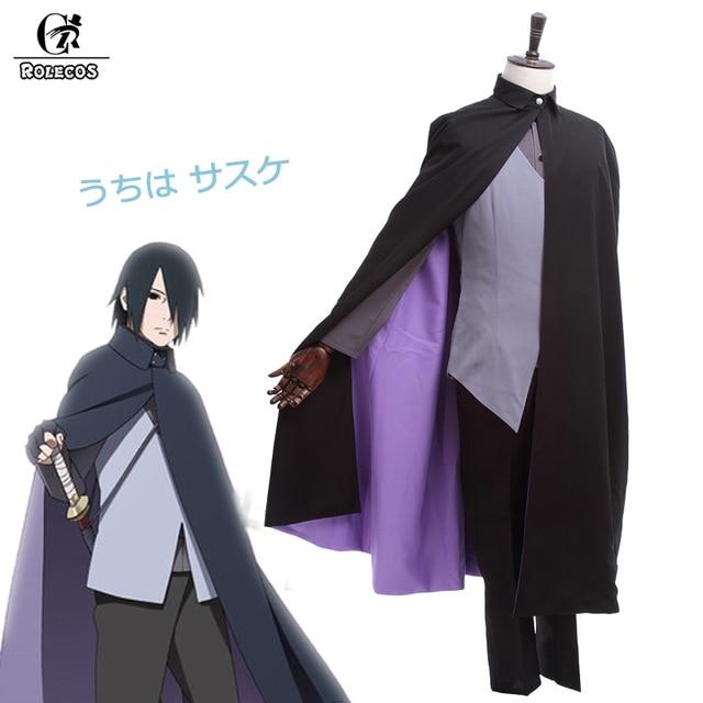rolecos new anime boruto naruto the movie uchiha sasuke cosplay