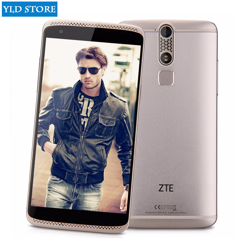 Original ZTE Axon Mini B2015 Android 5.1 MSM8939 1.5GHz Octa-core 3G RAM 32G ROM FHD 5.2 Inch 13.0MP Fingerprint Cell Phone