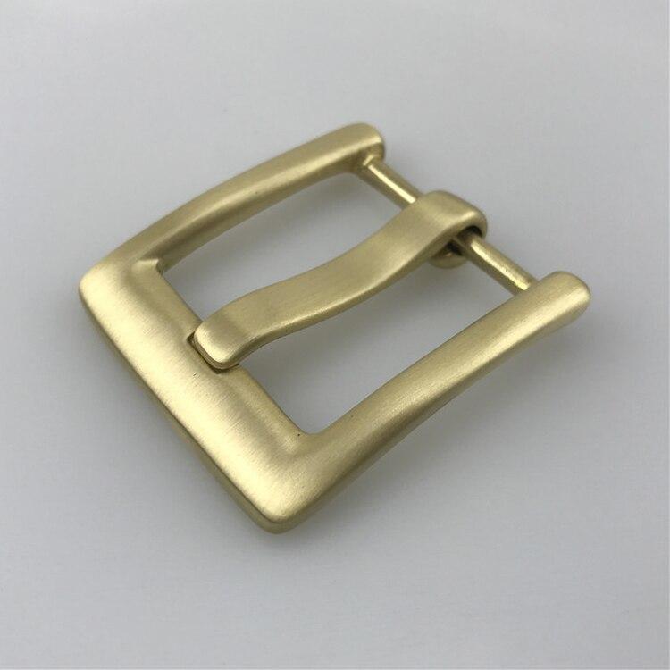 Mens Solid Brass Metal Belt Buckles Diy Cowboy Jeans Accessories Suit 4cm Leather Belts Mens Fivela Solid Color Boucle Ceinture Arts,crafts & Sewing