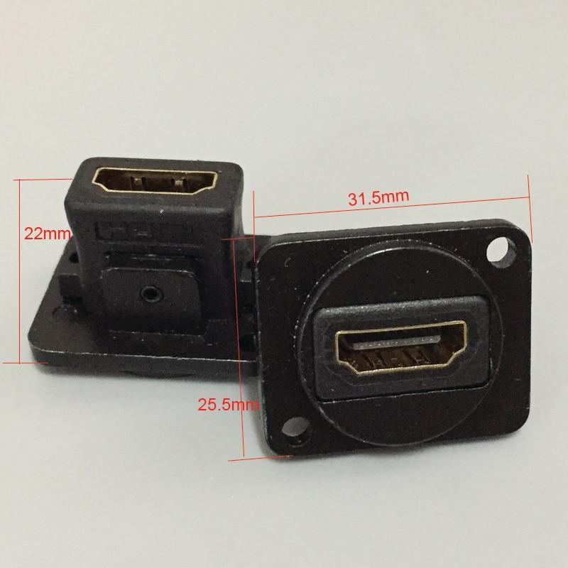 아케이드 캐비닛 HDMI 소켓 패널 모듈 HDMI 커넥터 HDMI - 엔터테인먼트
