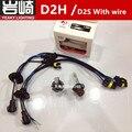 2 X Yeaky D2H xenon bulb 35W Car External Light D2H D2S hid bi xenon projector lens bulb Headlight for hid D2H xenon kit D2Y