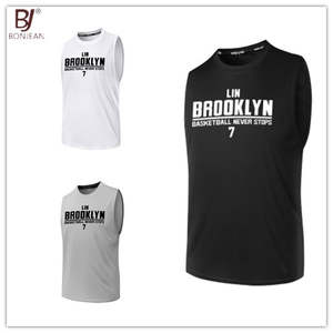 5dcfe9ca2 BONJEAN Breathable Quick Dry Training Shirts Uniforms Sports Basketball  Jerseys