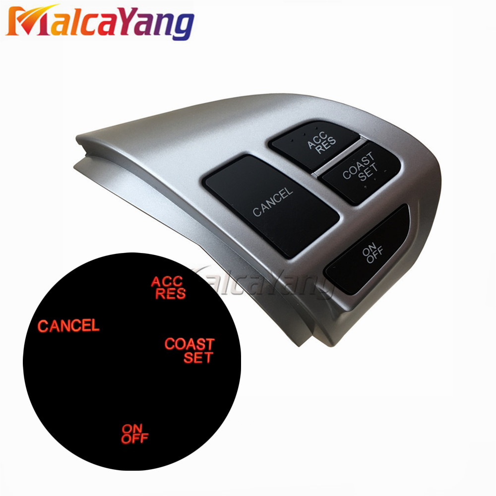 <font><b>8602A008</b></font> Steering Wheel Volume Sound Button Fit for MITSUBISHI LANCER OUTLANDER ASX 2007-2011 image