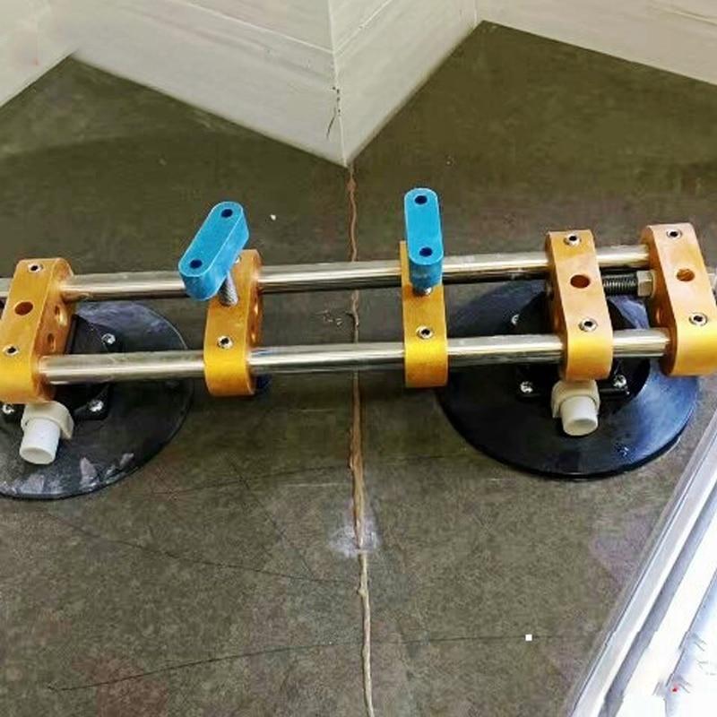 Quartz Stone Countertops Seam Tool Vacuum Adsorption Splicer Stone Adjustment Double Suction Cup Multi-function Hand Tool платье seam seam mp002xw18ui0