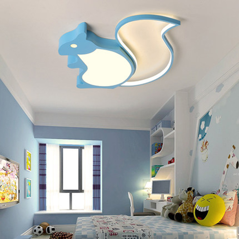 Modern Led Ceiling Lights For Bedroom Study Room Children Room Kids Room Cartoon Ceiling Lamp for baby girls boys lights fixture in Ceiling Lights from Lights Lighting