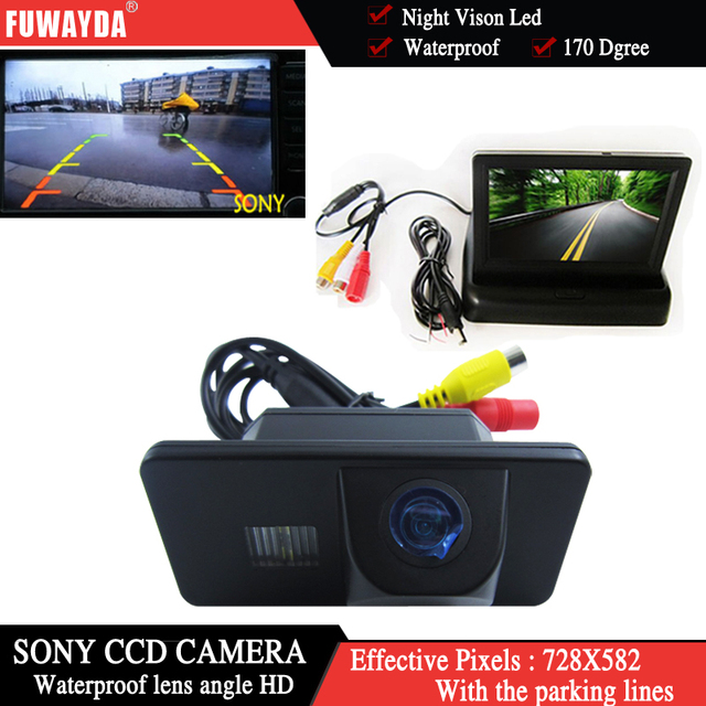 FUWAYDA parking 170Degree Car Styling Reverse Camera With Car Rear View Camera for BMW E81 E87 E90 E91 E92 E60 E61 E62 E64 X5 X6