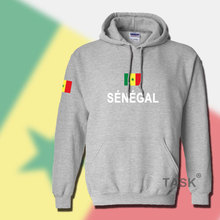 Senegal SEN hoodie men sweatshirt sweat suit hip hop streetwear tracksuit nation footballer sporting country africa Senegalese