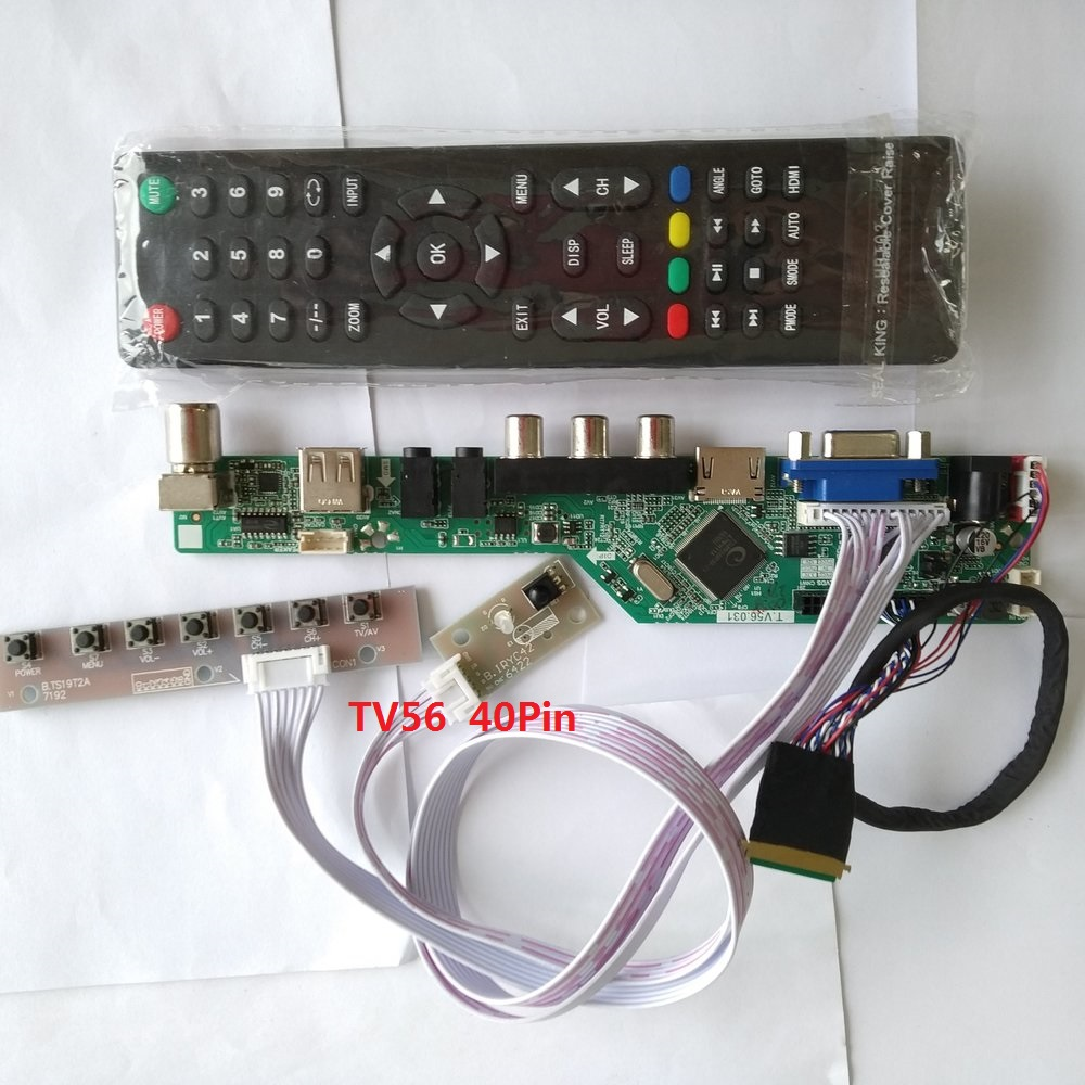 Kit For LP156WH4(TL)(A1) TV AV 1366X768 15.6