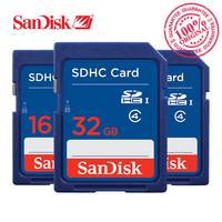 SanDisk Memory Card SDHC 8GB 16GB 32GB SD Card For Camera SDSDB