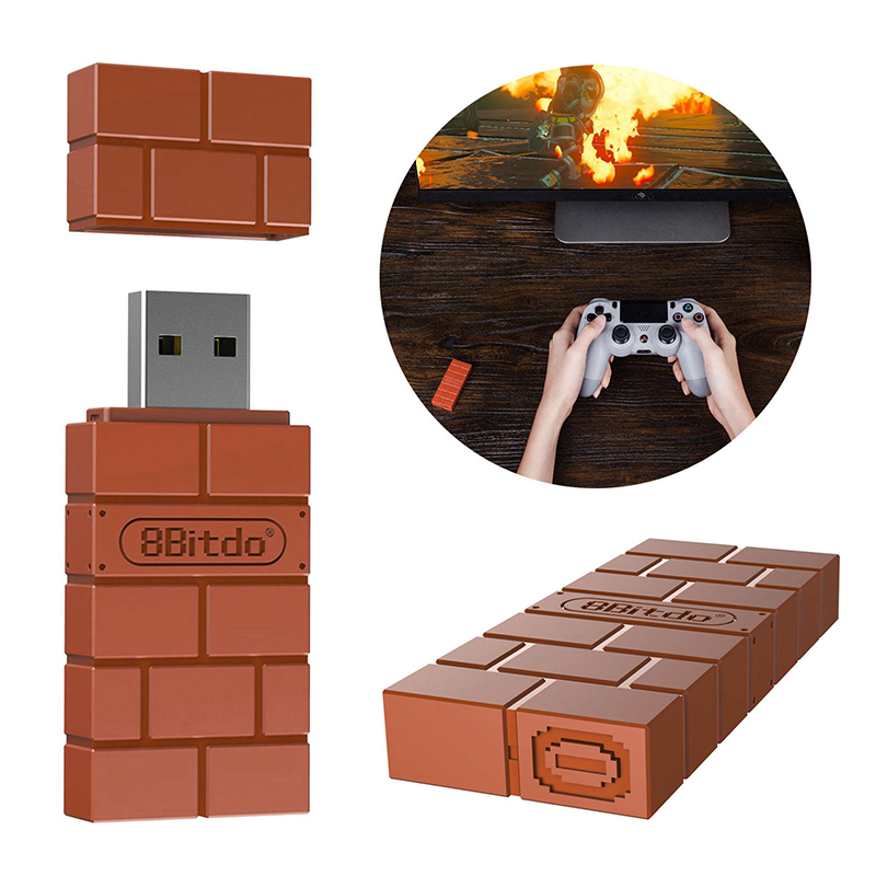 HobbyLane 8Bitdo USB Wireless Bluetooth Adapter For PS4 Consola Game Receiver Nintendo Switch d18