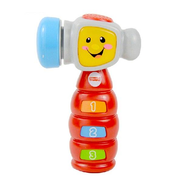 D589 Бесплатная доставка Игрушки для детей стучать обучения небольшой молоток (английская версия) раннего детства образовательных просвещен...