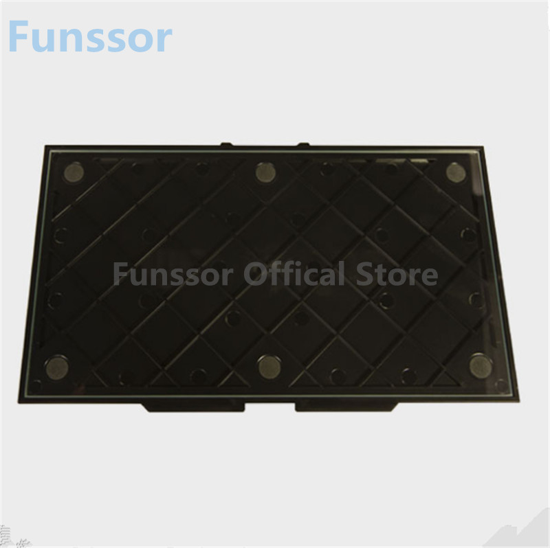 Funssor 3 D printer parts MK Replicator 2 glass Build upgrade Plate For DIY Replicator 2 3D printer цены