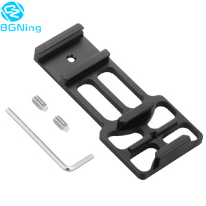 Image 1 - Upgraded CNC Aluminum 20mm Gun Side Rail Mount for Gopro Xiaoyi Gitup Sport Action Camera for Hunters Airsoft Player Accessories