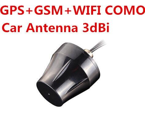 GPS + GSM + WIFI COMO tribanda antena GPS del coche