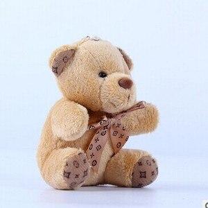 10cm a tie plush toy teddy bea