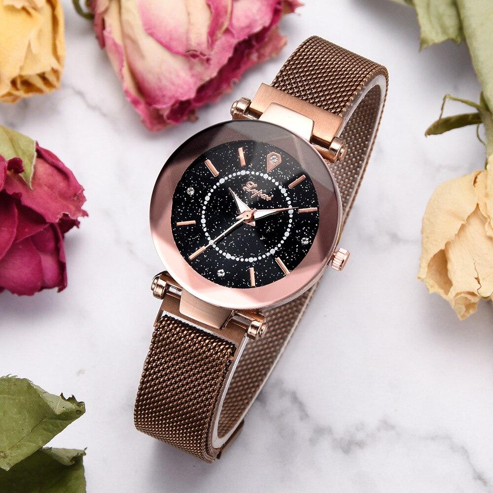 Star Watch Women's Fashion Trends Simple Watch Women Watches  Unique  Luxury Designer Women  Popular jooyoo
