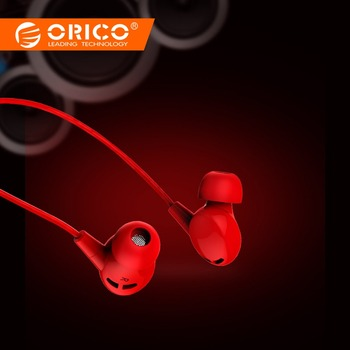 ORICO Colorful In-ear Music Earphones Stereo Bass Sound Earbud Headset 3.5mm Earphone with Microphone for Phone Xiaomi Huawei
