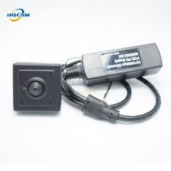HQCAM 720P mini kamera ip 1.0 megapikselowy onvif p2p mini ip kamera otworkowa POE wsparcie telefon komórkowy zdalny nadzór 3.7mm obiektyw