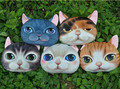 One piece 3D printed cat pillow,lovely cushion,cute vivid cat soft toys for children girls girlfriend home decoration gift cool