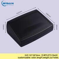 Plastic enclosure electric box diy junction box abs plastic project box diy instrument case electronic speaker box 152*108*54mm