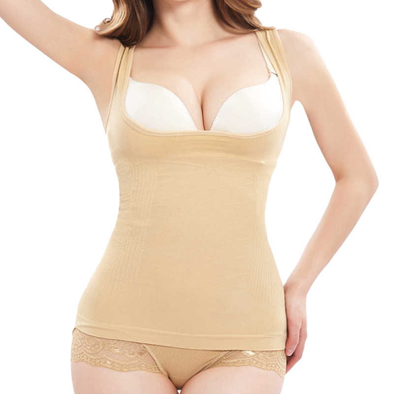 127b9465b4 Detail Feedback Questions about stomach tummy slimming corset shape  underwear slim shapewear camisole tank top vest invisible full postpartum body  shaper ...