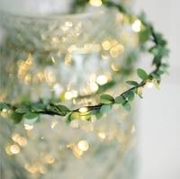 YINGTOUMAN 5pcs 2m Battery Shaped Christmas Garlands LED String Christmas Net Lights Fairy Xmas Party Garden Wedding Decoration
