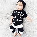 2017 Baby Boy Одежда Летняя Детские Марка Одежда Наборы Мода Коротким Рукавом Новорожденный Комбинезон Roupas Infantis Bebes Одежда