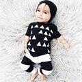 2017 Bebê Menino Roupas Conjuntos de Roupas de Bebê Da Marca de Moda de Verão de Manga Curta Romper Bebê Recém-nascido Roupas Roupas Infantis Bebes